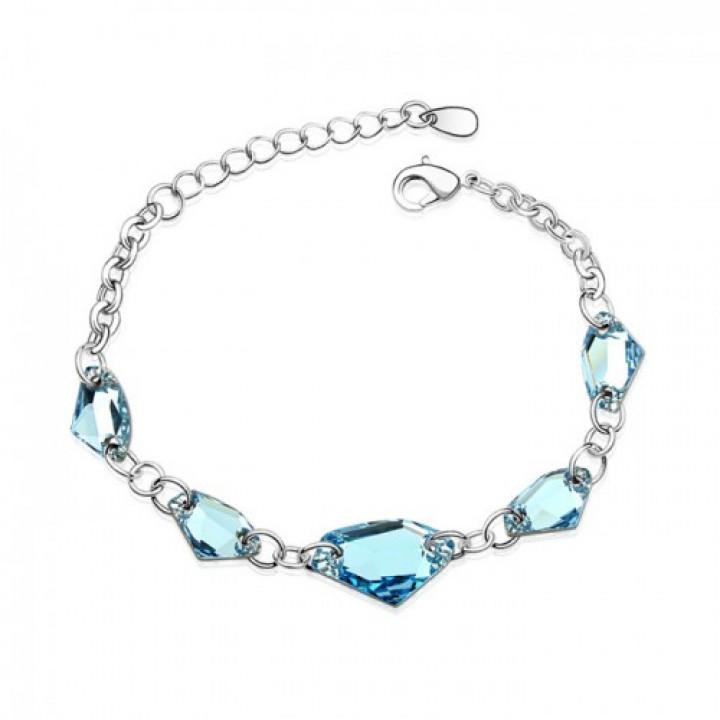 Браслет с кристаллами Сваровски 0120415
