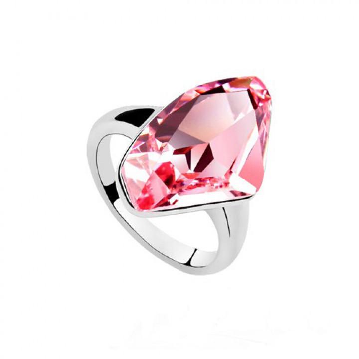 Кольцо с кристаллами Сваровски 0122909