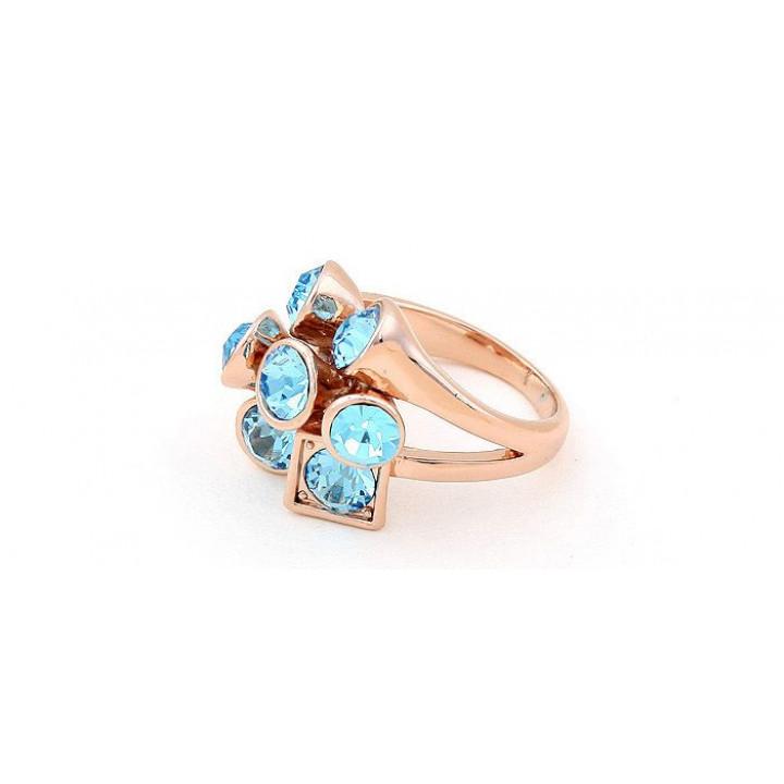 Кольцо с кристаллами Сваровски 11112261