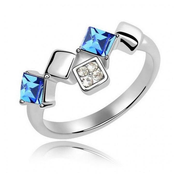 Кольцо с кристаллами Сваровски 111208123