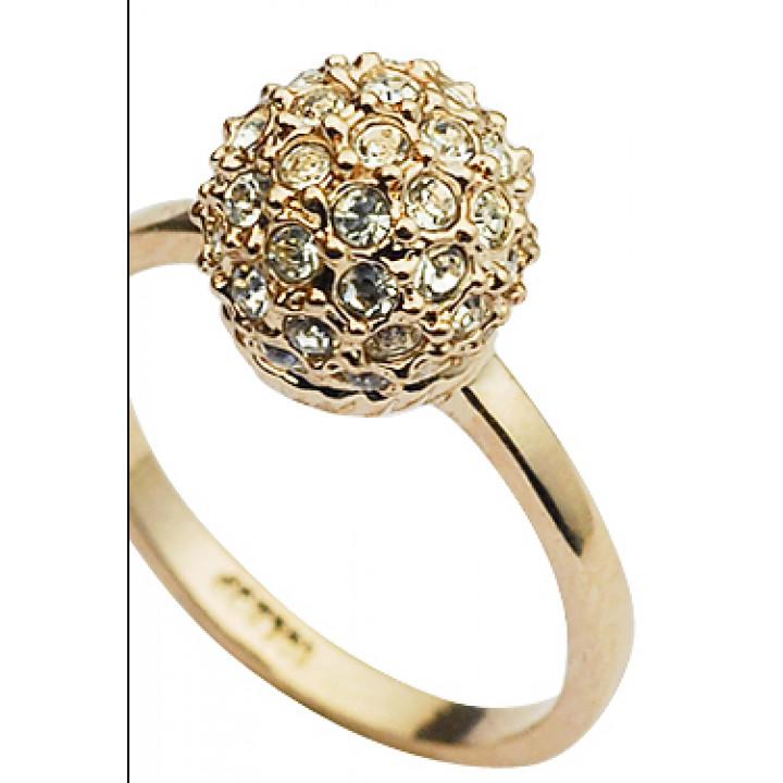 Кольцо с кристаллами Сваровски 1183035