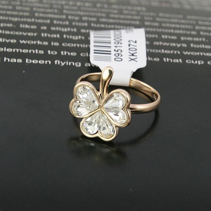 Кольцо с кристаллами Сваровски 3221140