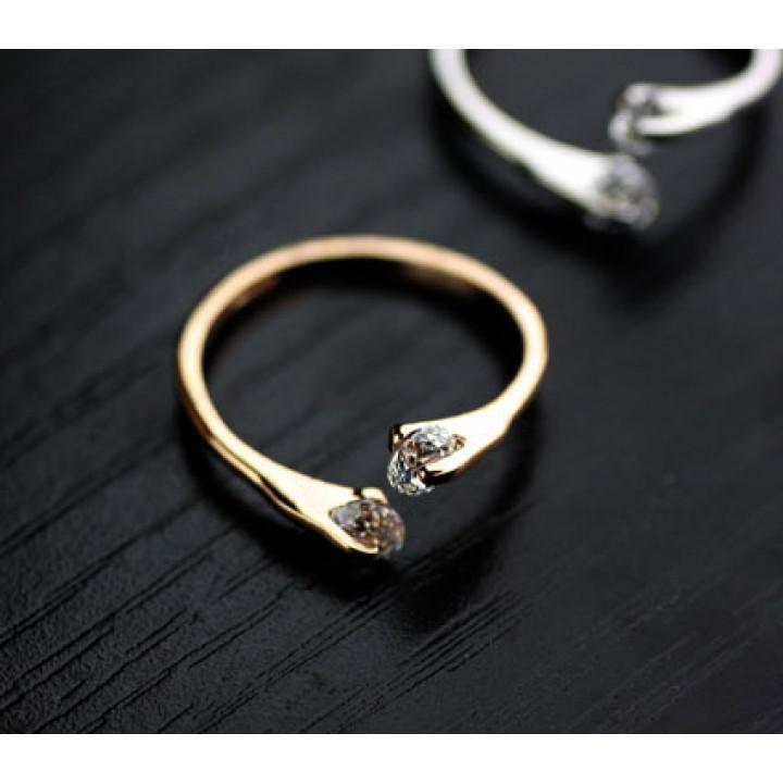 Кольцо с кристаллами Сваровски 91386a