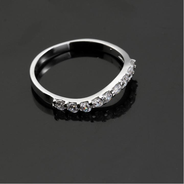 Кольцо с кристаллами Сваровски X10465