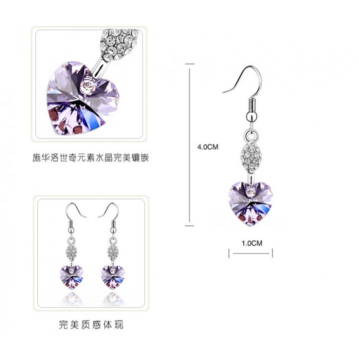 Комплект с кристаллами Сваровски 0122935