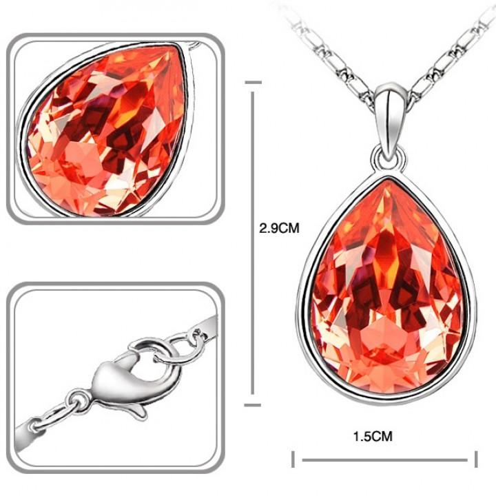 Комплект с кристаллами Сваровски 11_4318