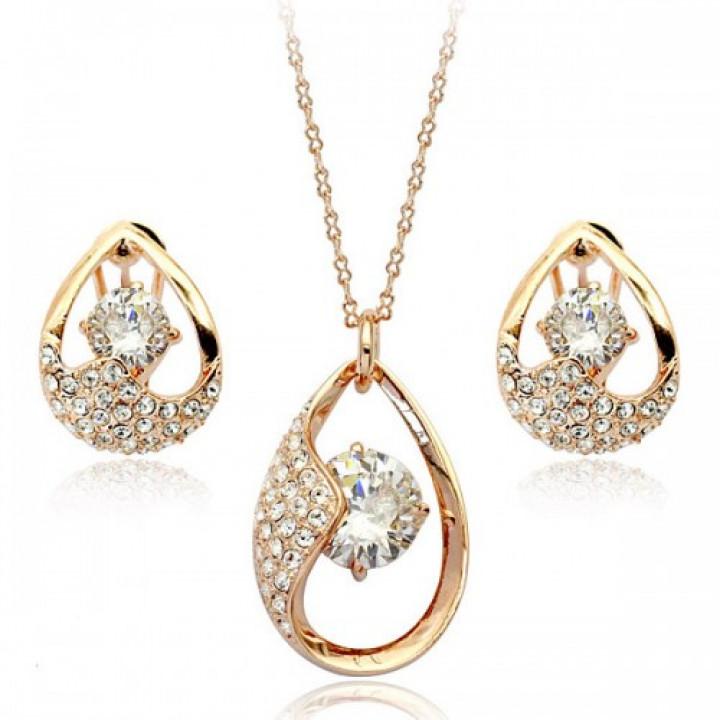 Комплект с кристаллами Сваровски 220471a