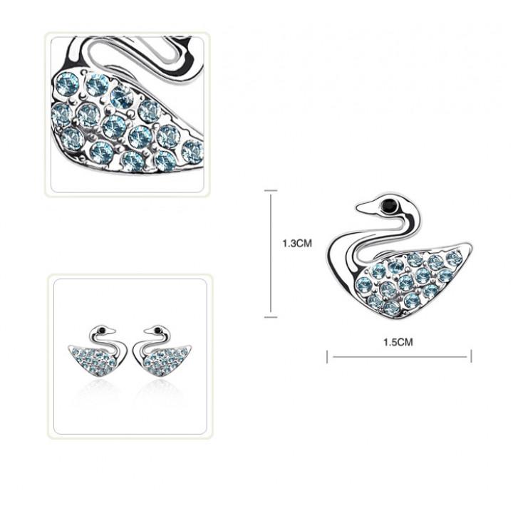 Серьги с кристаллами Сваровски 0111703
