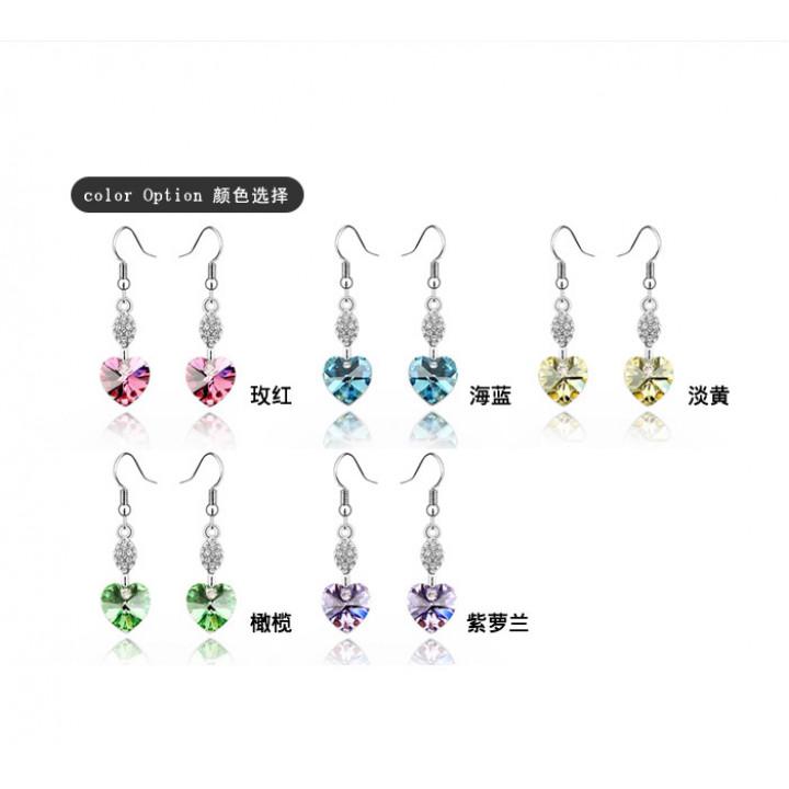 Серьги с кристаллами Сваровски 0122814