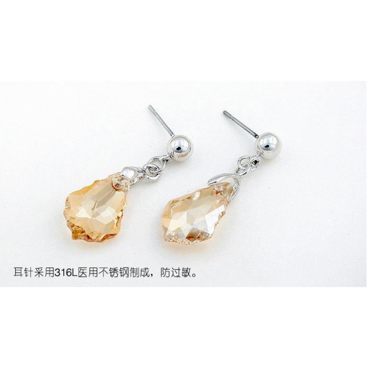 Серьги с кристаллами Сваровски 11101324