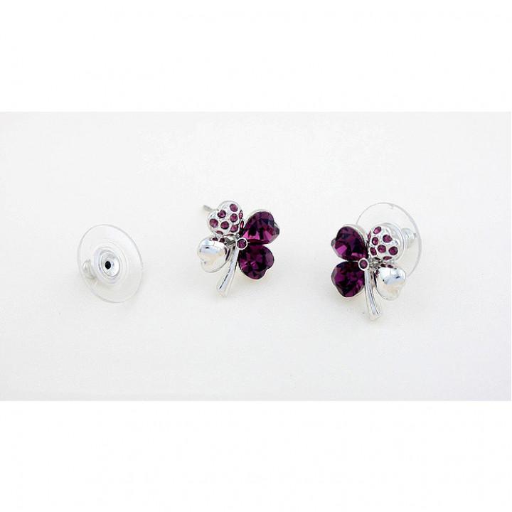Серьги с кристаллами Сваровски 11101412