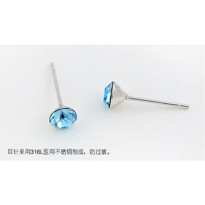 Серьги с кристаллами Сваровски 11101801