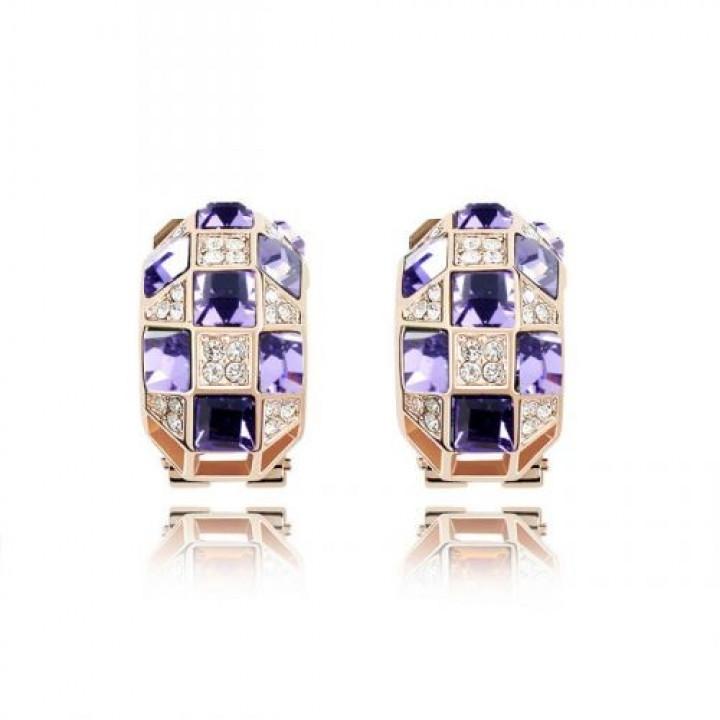 Серьги с кристаллами Сваровски 11110743