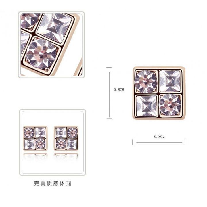 Серьги с кристаллами Сваровски 111208100
