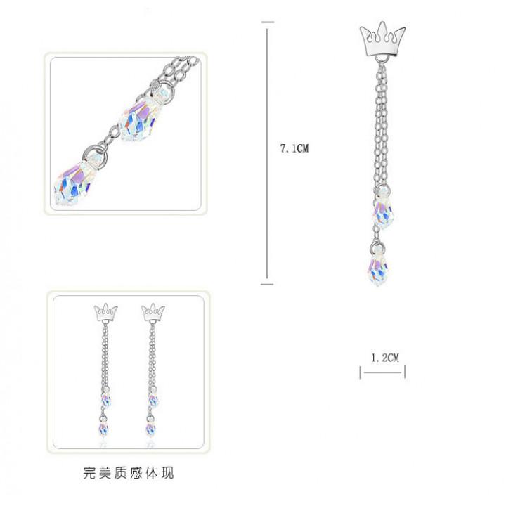 Серьги с кристаллами Сваровски 1162538
