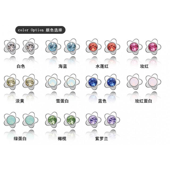 Серьги с кристаллами Сваровски 1162556