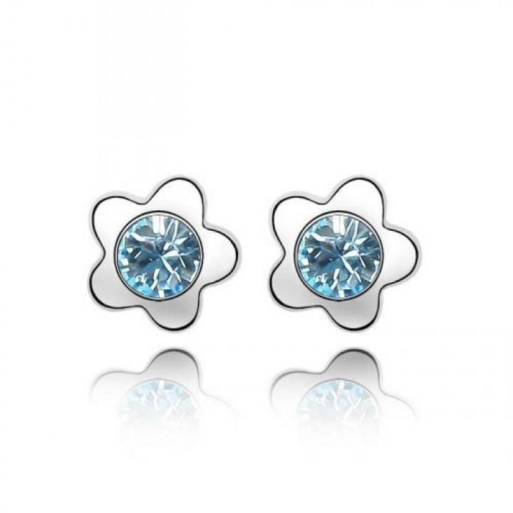 Серьги с кристаллами Сваровски 1162557