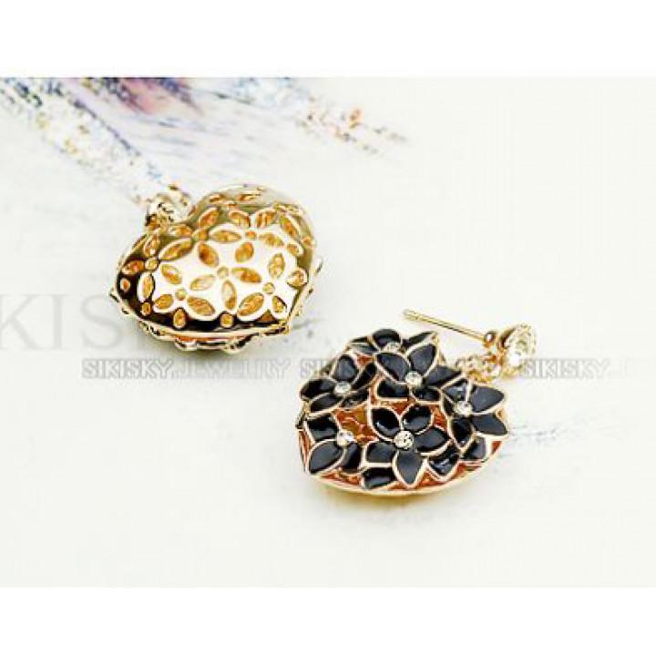 Серьги с кристаллами Сваровски 1182175
