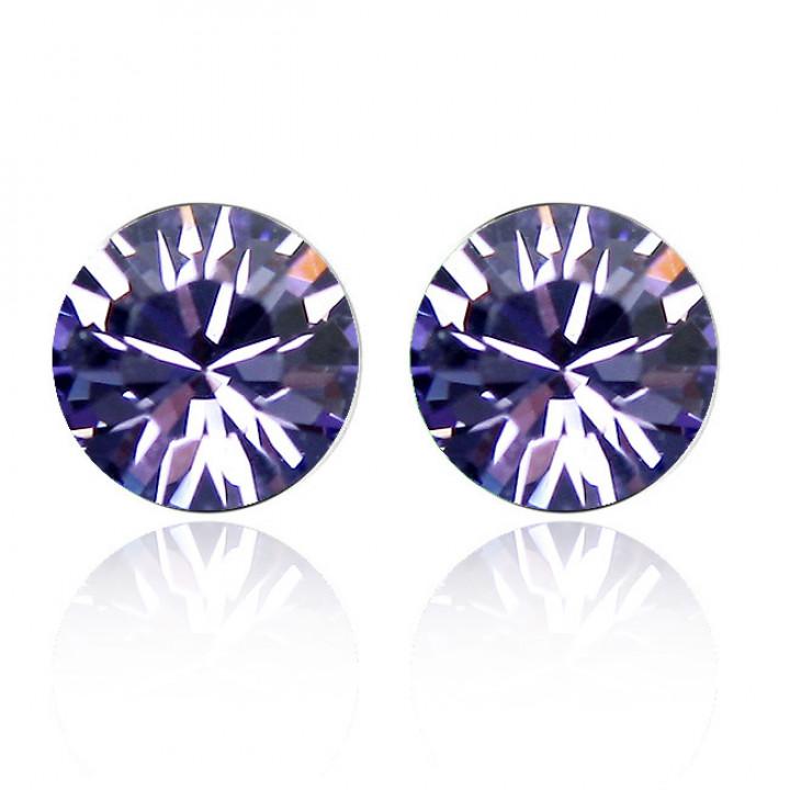 Серьги с кристаллами Сваровски 06_2101