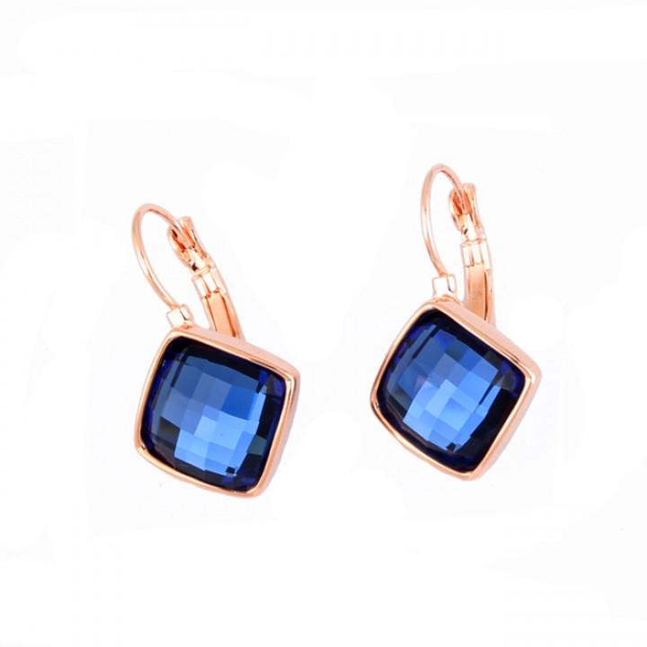 Серьги с кристаллами Сваровски 085248f