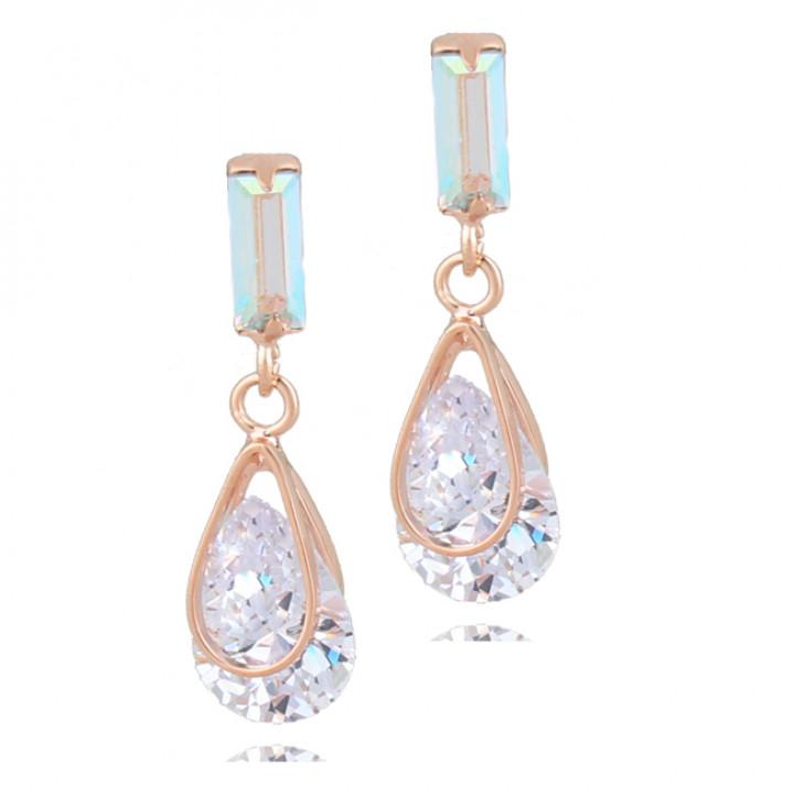 Серьги с кристаллами Сваровски 087210a