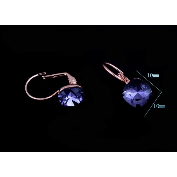 Серьги с кристаллами Сваровски 087213a