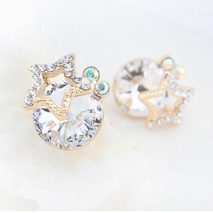 Серьги с кристаллами Сваровски 12937
