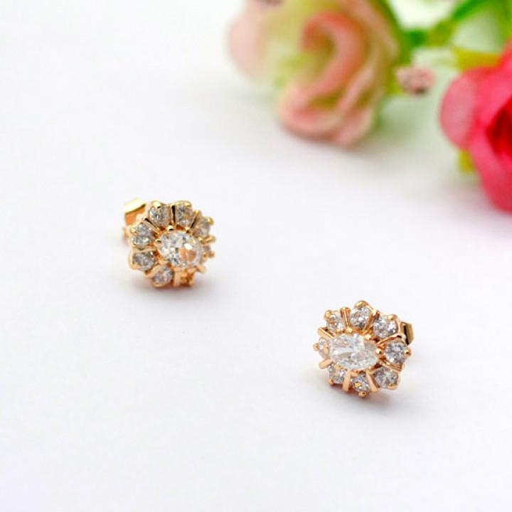 Серьги с кристаллами Сваровски 821150a