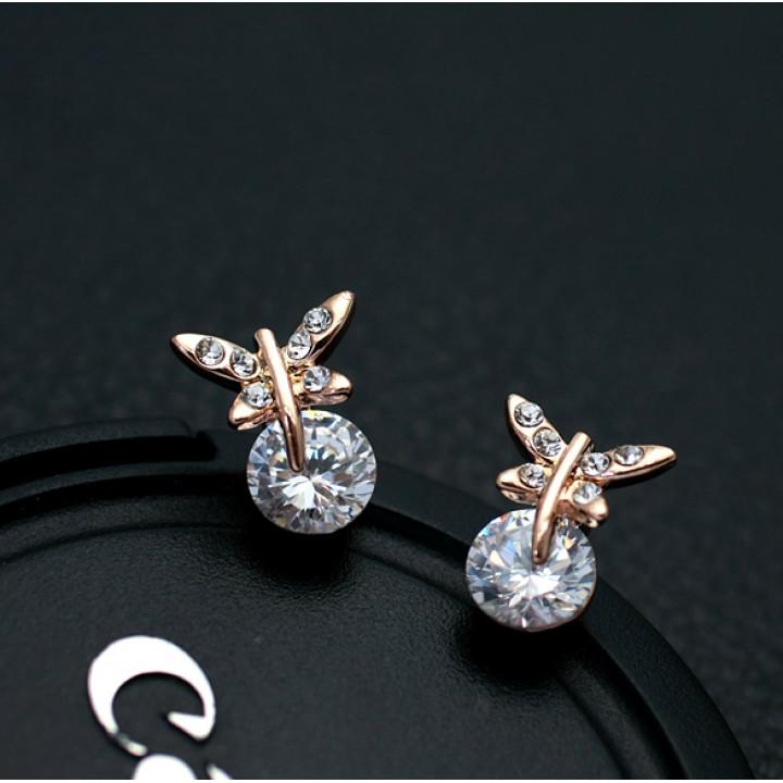 Серьги с кристаллами Сваровски 85937