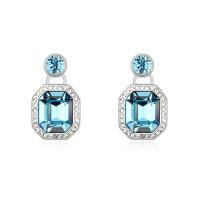 Серьги с кристаллами Сваровски 9288