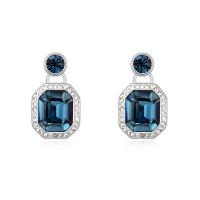 Серьги с кристаллами Сваровски 9289
