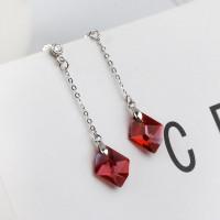 Серьги с кристаллами Сваровски 97204