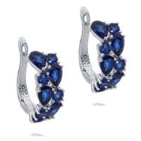 Серьги с кристаллами Сваровски q5555590