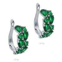 Серьги с кристаллами Сваровски q5555591
