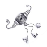 Винтажный браслет Динара с кольцами
